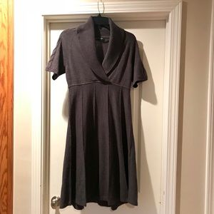 Jones NY grey sweater dress